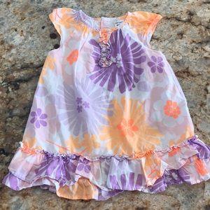 Spring Summer Floral Dress